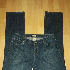 Gap Jean's, curvy straight leg,  mid rise 10